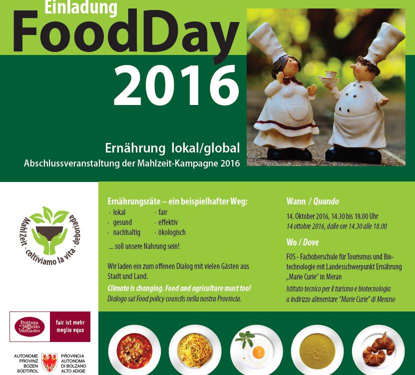 Einladung Food Day