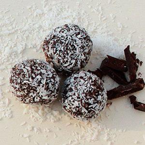 kakao und mascarponekugeln
