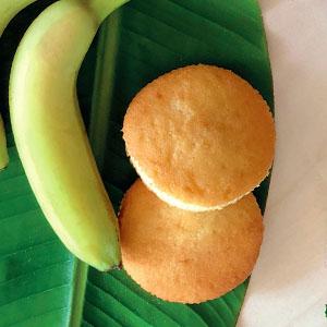 bananen ingwer muffins