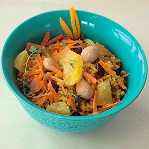 orangen- couscous